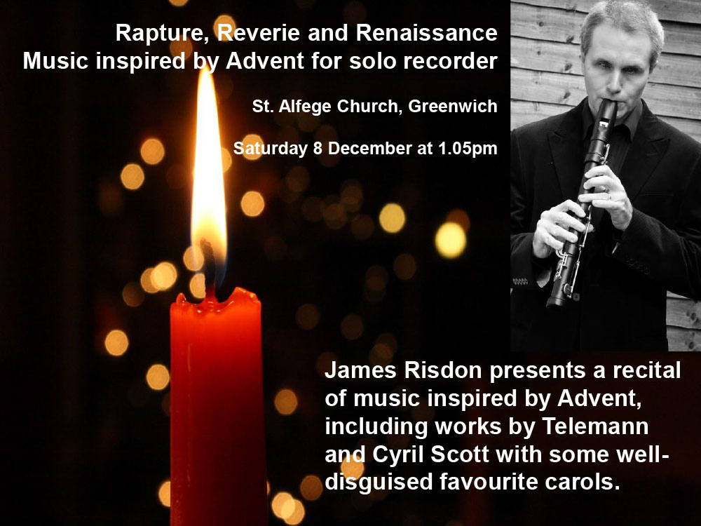 James Risdon - Advent Recital
